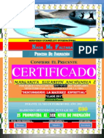 (Margarita)Certificado de Promocion (2do Nivel)