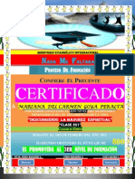 (Mariana)Certificado de Promocion (2do Nivel)