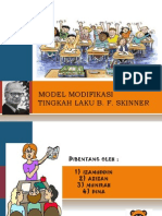 Model Modifikasi Tingkah Laku