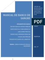 Manual de Banco de Sangre
