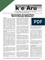 Jak'e Aru (La voz del Hombre)  Edicion Especial Febrero 2009