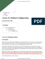 Access to Modem Configuration - DD-WRT Wiki