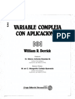 Variable Compleja (Derrick)