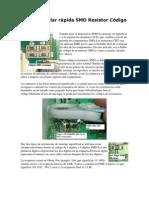 Cómo calcular rápida SMD Resistor Código