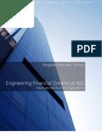 Engineering Financial Dreams at AIG
