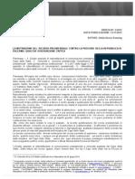 Le Motivazioni Del Ricorso Presidenziale Contro La Procura Della Repubblica Di Palermo. - AIC.anzon_2