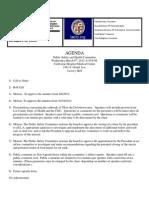 DLANC Public Health & Safety Agenda for 3/6/2013