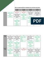 CALENDARIZAÇÃO E PLANIFICAÇÃO DA SEMANA DA LEITURA13