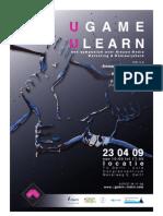Poster + Uitnodiging symposium UGame - ULearn