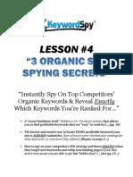 Organic Ranking Secrets