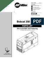 Miller Bob Cat 250 Diesel
