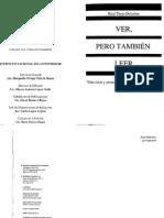 Ver Pero Tambien Leer- Raúl Trejo Delabre