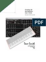 DSI Prophet08 SE User Guide
