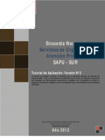 Tutorial Encuesta SAPU-SUR Ver2