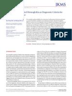 Hemoglobina Glicosilada y Sindrome Metabolico
