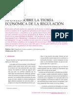 Teoria Economica de La Regulacion