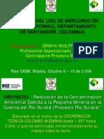 REDUCCIÓN DEL USO DE MERCURIO EN VETAS