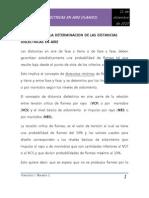 Criterios Para La Determinacion de Las Distancias Dielectricas en Aire