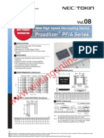 NEC TOKIN 0E128 OE128 Proadlizer Capacitors