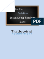 Your One-Stop Solution In Securing A Teaching Career