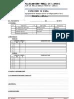 Plantilla Cuaderno de Obra Adm Directa Llusco