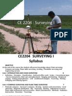 CE2205 survey