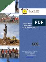 Brochure de Pevoex Contratistas SAC Ene 2012
