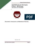 Introduccic3b3n a Las Matemc3a1ticas Financieras