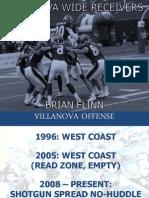 Coach Brian Flinn 5 Wide Scheme Villanova