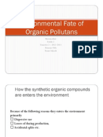 Biore 3 Fate of the Pollutants