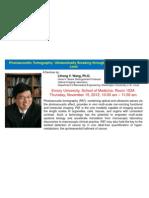 Wang Seminar Poster 11 2012