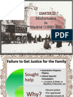 Misfortunes in Madrid (1890-91)