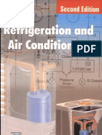 Refrigeration and air conditioning by C P arora