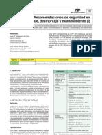 ntp-782 Grúas torre. Recomendaciones de seguridad en el montaje, desmontaje y mantenimiento (I) (pdf, 1,48 Mbytes) .pdf