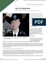 28-02-13 Bradley Manning's full statement