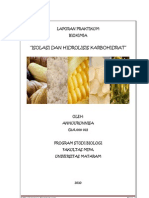 Laporan Praktikum Biokimia Acara i - Isolasi Dan Hidrolisis Karbohidrat