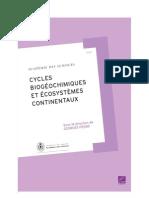 Cycles biogéochimiques et Ecosys contin