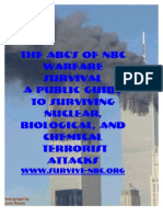 A Public Guide to Surviving Nuclear, Biological, and Chemical Terrorist Attacks