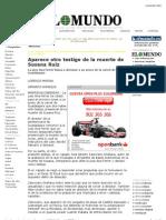 Aparece Otro Testigo de La Muerte de Susana Ruiz
