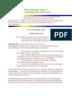 NPS Marketing Chapter 5