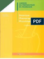 Botanique Pharmaco Phytothérapie