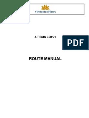 OM-C Airbus 320 Route Manual | Air Traffic Control