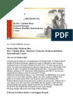 Storia Della Nichiren Shu