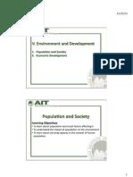 Environment and Development