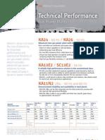 Gas Power Plants Technical Performance