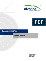 Manual Alvarion BreezeACCESS VL