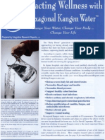 Kangen Water Report