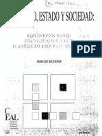 BOISIER (1990) Territorio, Estado y sociedad. Reflexiones sobre descentralización y desarrollo regional en Chile