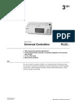 Universal Controllers RLU2 10219 Hq En