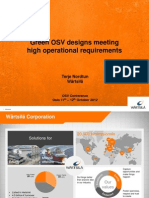 Wartsila SP Ppt 2012 OSV Europe.